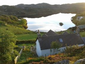 Dog Friendly Self Catering Lochinver Cottage Sutherland